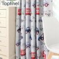 Затемняющие шторы Topfinel для гостиной  спальни  детской комнаты  декоративные шторы на окна  занавески  тюль  для мальчиков