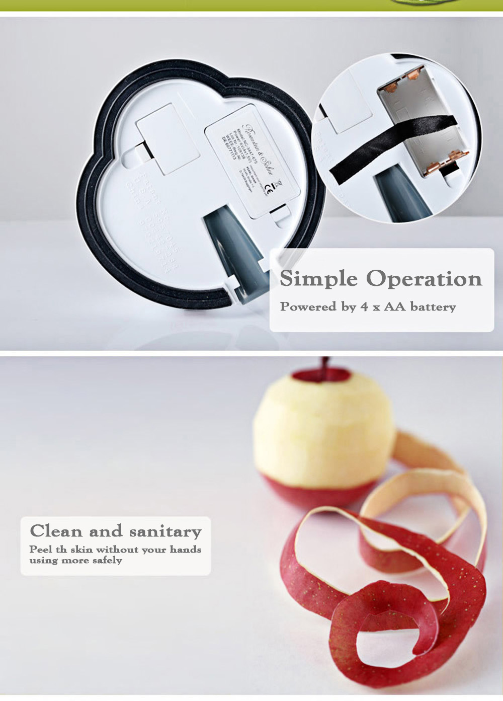 Electric Express Peeler Simple Operation