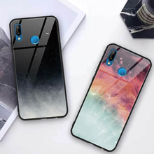 Tempered Glass Natural Case For Huawei