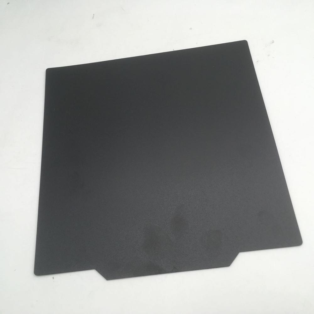 CR-10 S4 S5 3D printer Upgrade flexible magnet Build Surface Plate Heated Bed parts 400/500mmCR-10 S4 S5 3D printer Upgrade flexible magnet Build Surface Plate Heated Bed parts 400/500mm