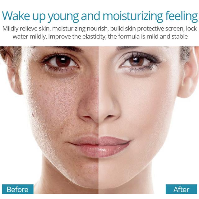 VIBRANT GLAMOUR Hyaluronic Acid Serum Moisturizing Essence Face Cream  Shrink Pore Skin Care Repair Whitening Anti-aging