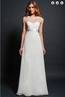 Новая мода 2018 невесты горничной vestidos торжественное платье плюс размеры Белый Длинные спинки Выпускной Свадебные платья