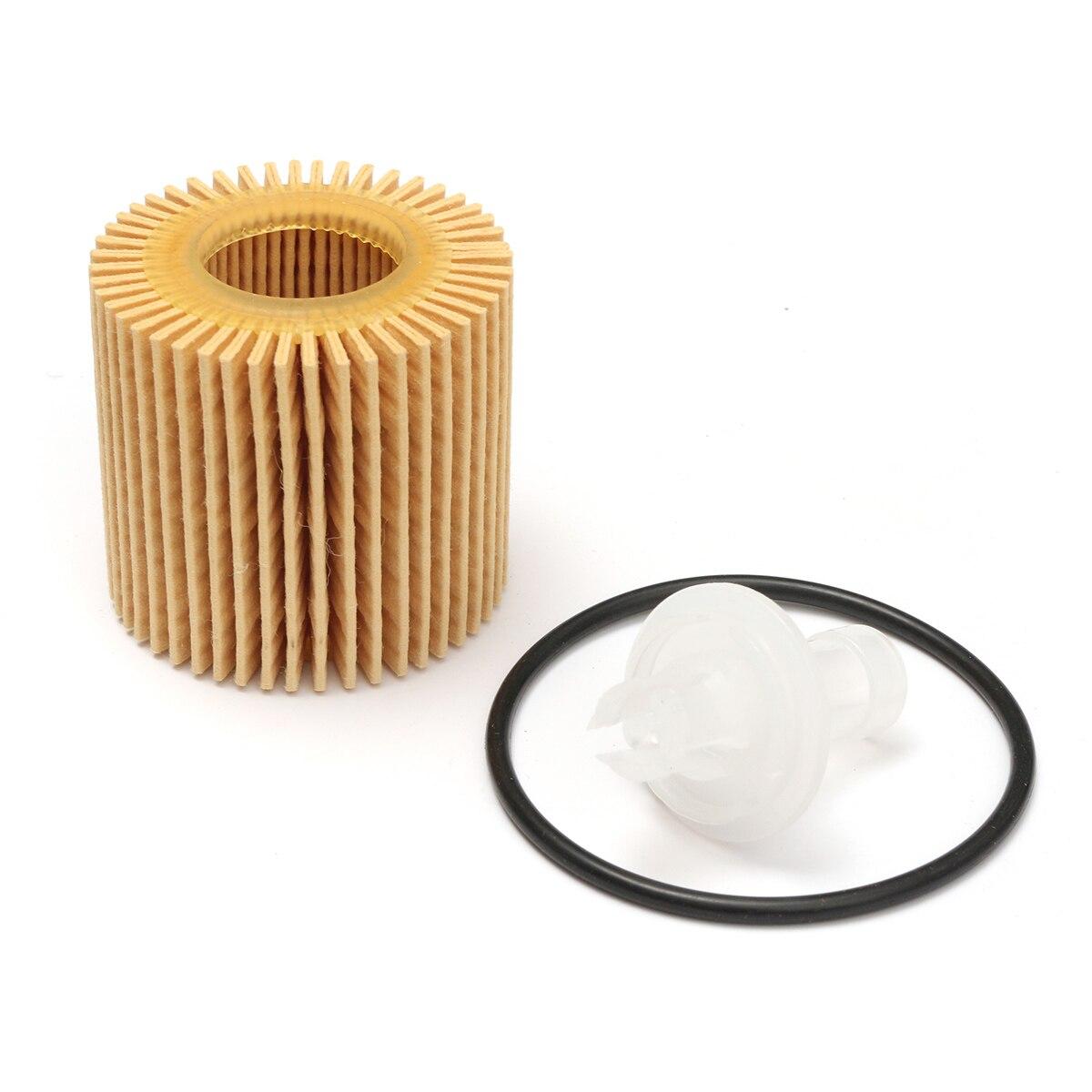 Oil Filter For Toyota Corolla Matrix Prius Lexus Scion XD Scion IM 04152-YZZA6 Included 1Oil Filter 1O-Rings 1Drain Tube