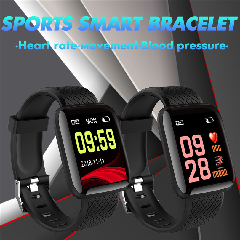 D13Smart Bracelet Fitness Tracker Band Heart Rate <font><b>Blood</b></font> <font><b>Pressure</b></font> Monitor Smart Band <font><b>Watch</b></font> IP67 Waterproof Sports For Android IOS image