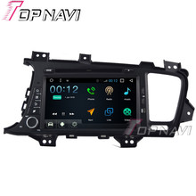 Topnavi 8″ 1024*600 Quad Core 16G Android 6.0 Car DVD Multimedia Player for KIA K5 Autoradio GPS Navigation Audio Stereo