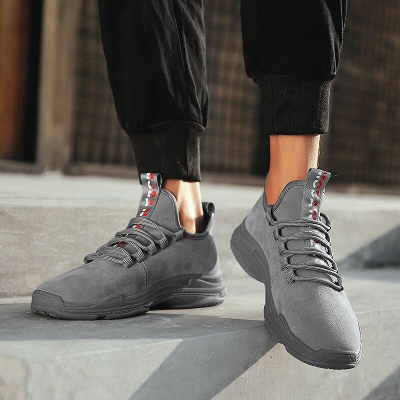Automne Hommes Zapatillas Chaussures Casual Air Mesh À Respirant Mode En 2018 red Masculinos Black Lacets Baskets Nouvelle gray Plein Sapatos Fw1d4Fq