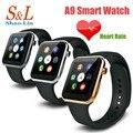 A9 Smartwatch Наручные Часы Bluetooth Smart Watch для Apple iPhone 5 5S 6 Plus Samsung Huawei HTC Android Смартфон Смотреть