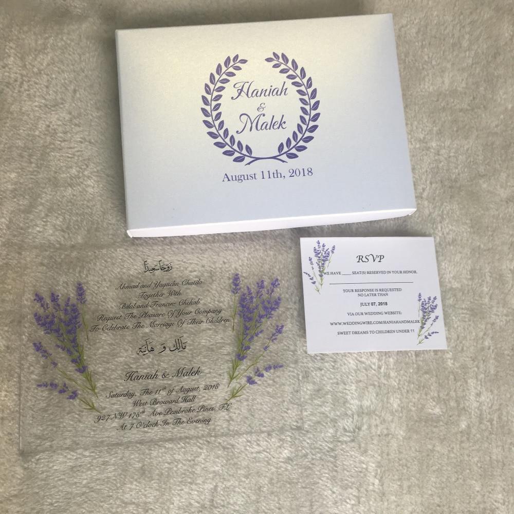 Buy acryl wedding invitation and get free shipping on AliExpress.com
