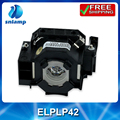 Compatible lamps projectors bulbs ELPLP42 V13H010L42 for EMP-280 EMP-400WE EMP-410W EMP-822 EMP-83...