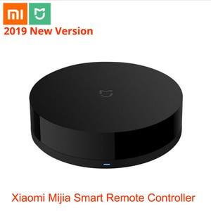 Image 1 - 100% Aqara Mijia Universal Intelligent Smart Remote Controller WIFI+IR Switch 360degree Smart Home Automation Mi smart sensor