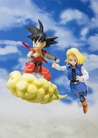 Huong Anime 12CM Dragon Ball Z Son Goku Gokou Childhood Ver. PVC Action Figure Collectible Model Toy