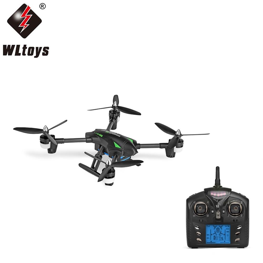 Original WLtoys Q323-C RC Drone RTF avec 2MP Caméra 2.4 GHz 6-axis Gyro Air Presse Maintien D'altitude Sans Tête Mode