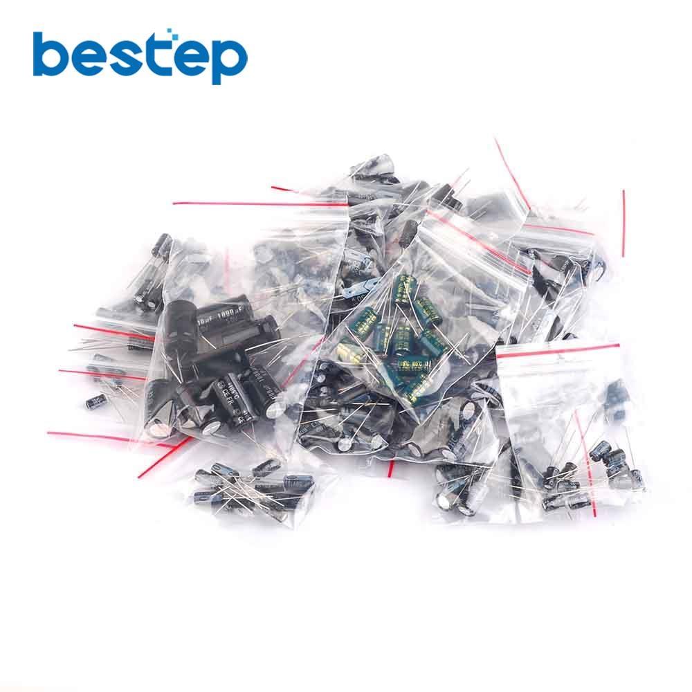 US Seller 250 pcs Ceramic Capacitor Assorted kit Assortment Set 25 Values 50V