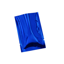 7*10cm Kitchen Storage Aluminum Foil Bag 200pcs/lot Blue Open Top Mylar Packing Package Pouch Retail Heat Seal Food Grade Bags