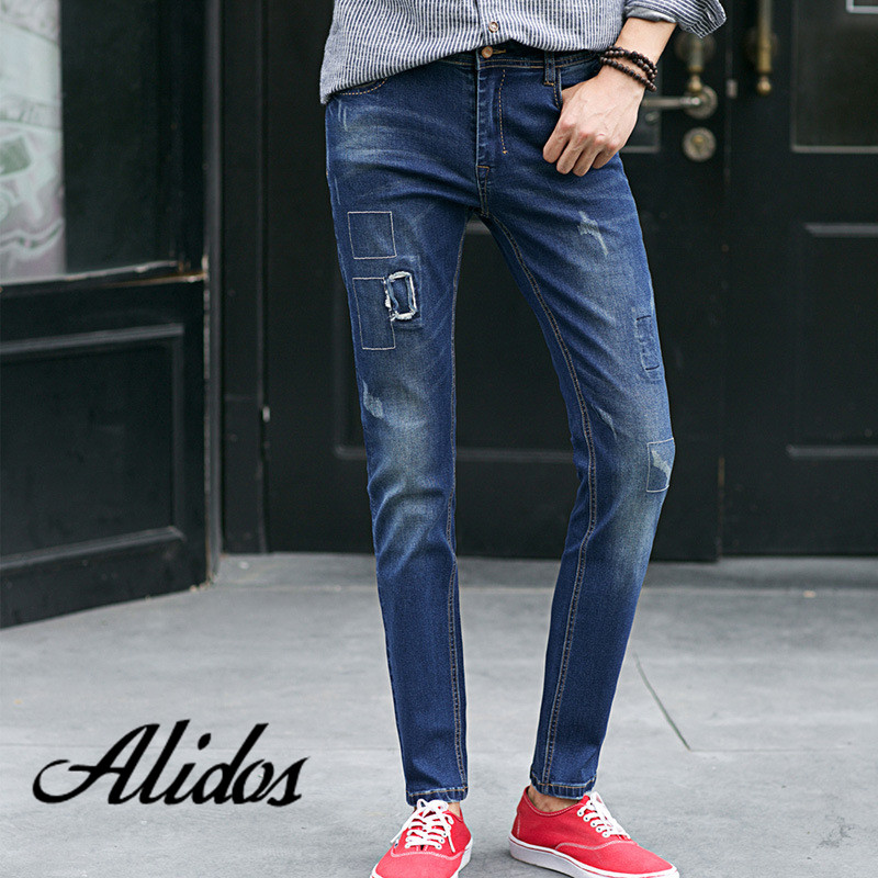 2016 Spring Summer Robin Style Men Jeans Fashion Brand ,Straight Slim Denim Large Sales Of Jeans,Pants MJ14