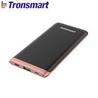 Tronsmart Trim PBD01 Power Bank 10000mAh PD 3.0 & VoltiQ Ultra thin Power Bank 18W Batterie Externe for Xiaomi,IphoneX,Samsung