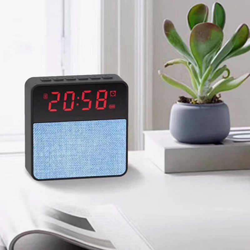 Голосовые вызовы современные настольные часы Электронные Домашние беспроводные