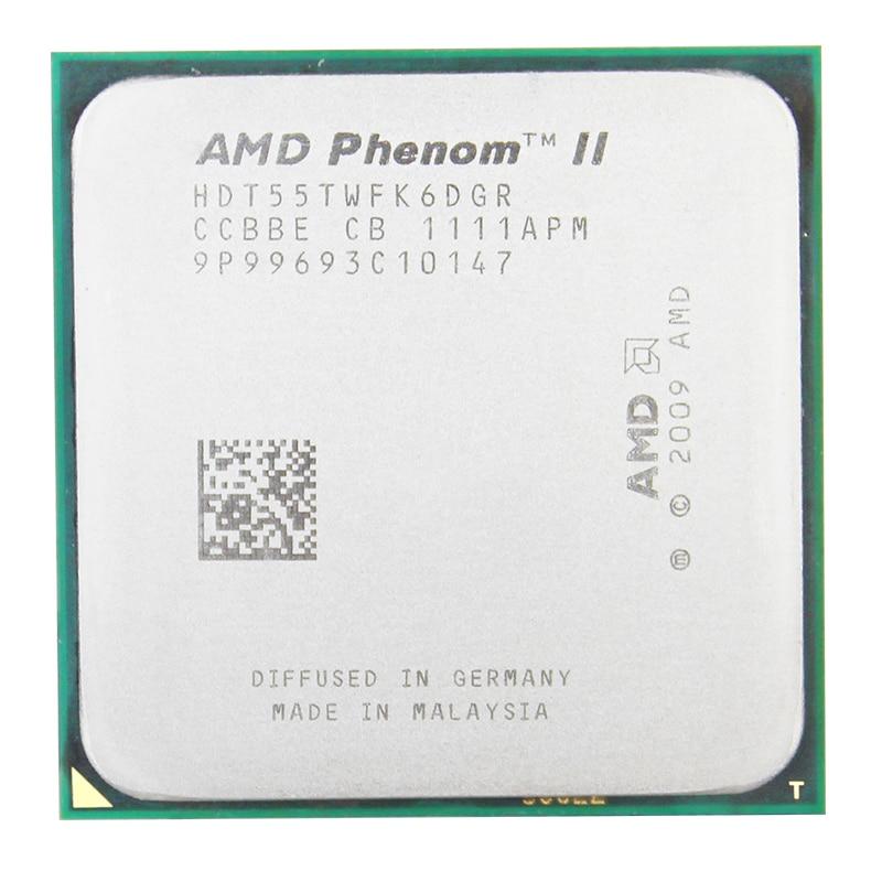 AMD CPU Processor AM3 X6 1055t Six-Core 6M Desktop No 938 95W II