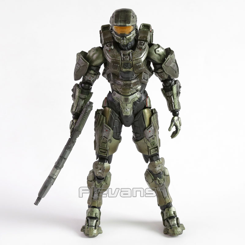 все цены на Square Enix Play Arts Kai HALO 5: GUARDIANS: Master Chief PVC Action Figure Collectible Model Toy