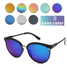 2019 Summer Unisex Sunglasses Men Women Retro Fashion Eyewear Mirror Reflective