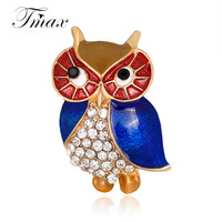 New Arrival Gold And Silver Owl Brooches For Wedding Bouquet Vintage Wedding Hijab Scarf Pin Up