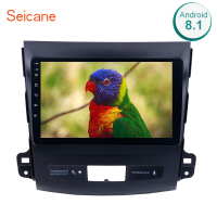 Seicane 2din android 8.1 car gps wifi multimedia player For 2006 2007 2008 2009 2010 2011 2012 2013 2014 MITSUBISHI Outlander