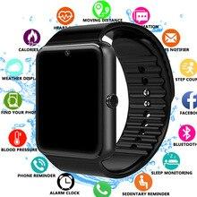 2019 Bluetooth akıllı saat destek 2G SIM TF kart kamera Smartwatch PK X6 Z60