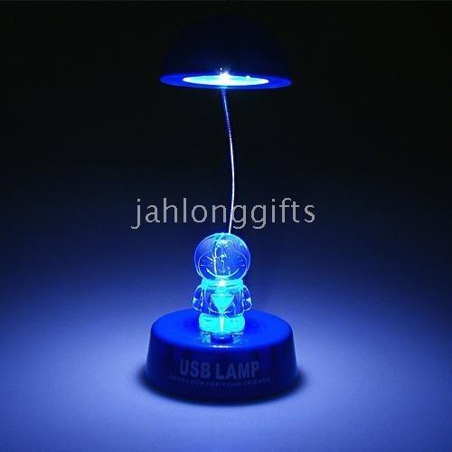 pcs a lot Rechargable USB Crystal led Lamp,Night Light,Book Light,Christmas Gifts,2