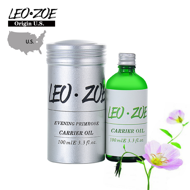 LEOZOE Pure Evening Primrose Oil Certificate Of Origin US Evening Primrose Essential Oil 100ml Oleo Essencial Huile Essentielle leozoe pure camellia oil certificate of origin japan camellia essential oil 100ml essential oil huile essentielle