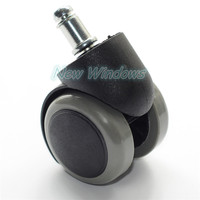 Dentist 1Pc Chairs Slipstick Office Computer Chair Rubber Caster Wheels Replacement