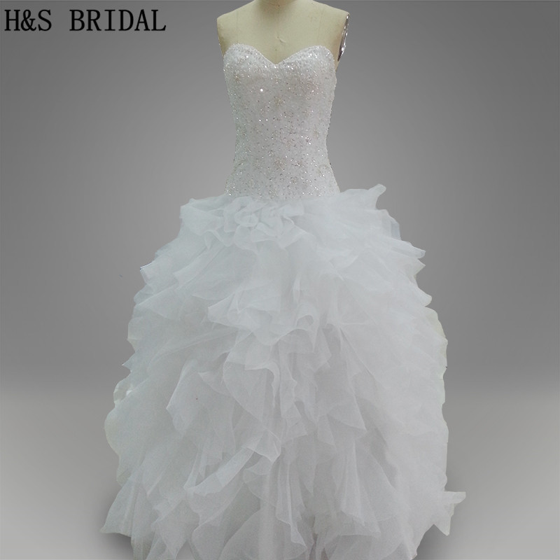 Best Ball Gown Wedding Dresses: Aliexpress.com : Buy Real Model Ball Gown Strapless White