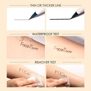 Image 4 - FOCALLURE Black Liquid Eyeliner Pencil Waterproof  24 hours Long Lasting Eye Makeup smooth Superfine Eye Liner Pen