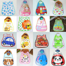 2019 Infant Toddler Baby Boy Girl Cartoon Bibs Babies Kids Waterproof Saliva Towel Burp Cloths Baby Clothing Accessories(China)