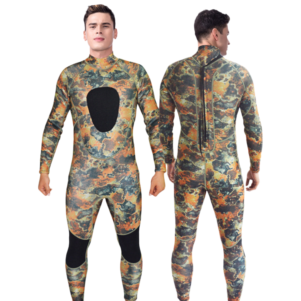 Comfortable Mens Wetsuits Jumpsuit Neoprene 3mm Full Body Spearfishing Diving Suit S/M/L/XL/XXL for Kiteboarding Kayaking adjustable pro safety equestrian horse riding vest eva padded body protector s m l xl xxl for men kids women camping hiking