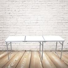 180*60 см портативный открытый складной стол Кемпинг Алюминиевый Сплав стол для пикника водостойкий Ультра-легкий прочный складной стол