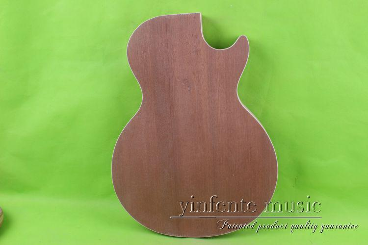 one   Unfinished electric guitar body mahogany wood made  27 # one 21 unfinished electric guitar body mahogany made
