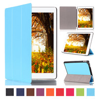 New Arrival Ultra Slim Magnetic Cover For IPad Pro 12 9 Tablet Stand Case PU Leather