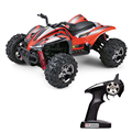 40KM/H RC Car 4WD Strong Magnetic Motor Off-Road Vehicle 2.4GHz Remote Control Car High Speed Cross Country Climbing Racing Car