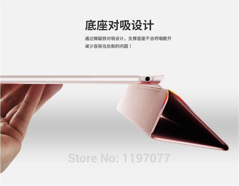 SureHIN Gözəl 3 qat dizaynlı tpu silikon yumşaq arxa tam qoruyucu - Planşet aksesuarları - Fotoqrafiya 5