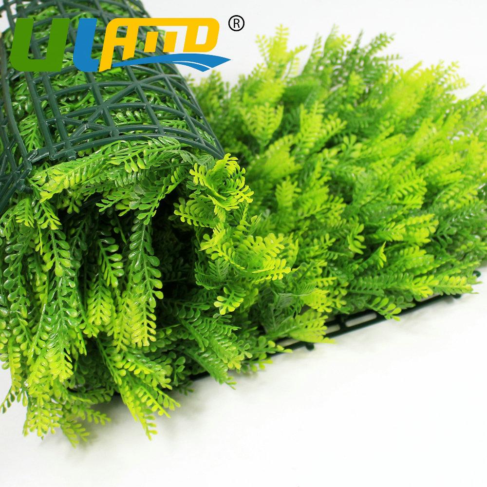 ULAND Artificial Boxwood Hedge Privacy Grass Fence 10X10