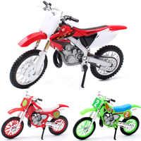 1:18 mini welly honda cr250r CR Motocross dirt motorcycle metal Diecasts & Toy Vehicles scale model bike Enduro dirt toy car kid