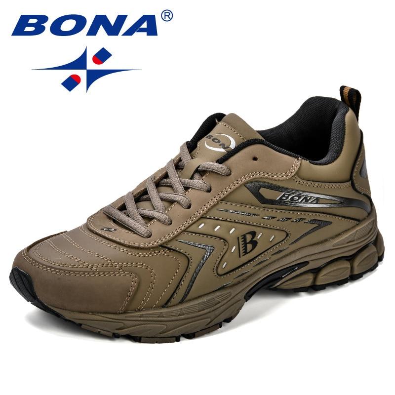 BONA Men Casual Shoes Brand Men Shoes Men Sneakers Flats Comfortable Breathable Microfiber Outdoor Leisure Footwear Trendy Style 3