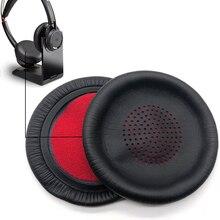Oreillettes de remplacement coussin oreillette oreiller pièces de réparation couverture pour Plantronics Voyager Focus UC B825 PLT BackBeat Sense casque