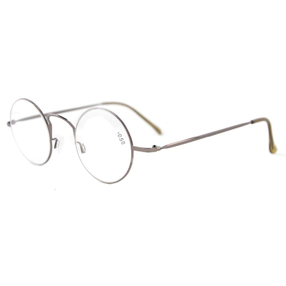 R15025 Eyekepper-lezers Lichtgewicht ronde metalen leesbril + 0.0 / - Kledingaccessoires - Foto 3