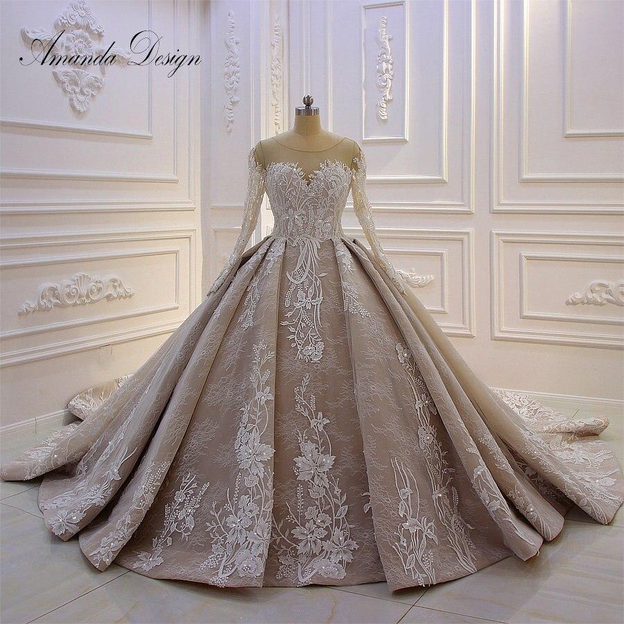 2019 Wedding Gown Design: Aliexpress.com : Buy Amanda Design Brautkleider