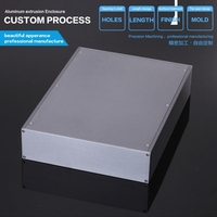 Aluminum Box Enclosure Case 13 39 9 84 2 54 L W H