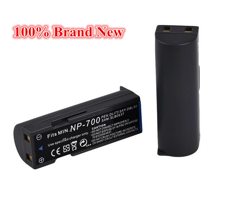 980mah 100 brand new Replacement Camera Battery For Samsung SLB 0637 SLB0637 NP700 NP 700 D