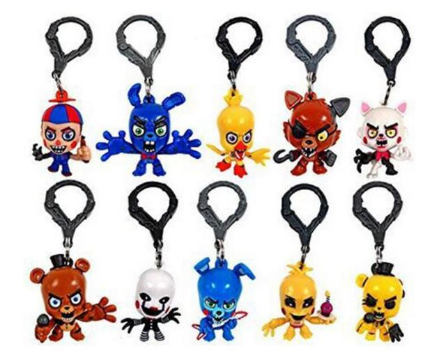 Five Nights at Freddy's Toys FNAF 5cm Pendant Fazbear Bear Foxy Christmas gift