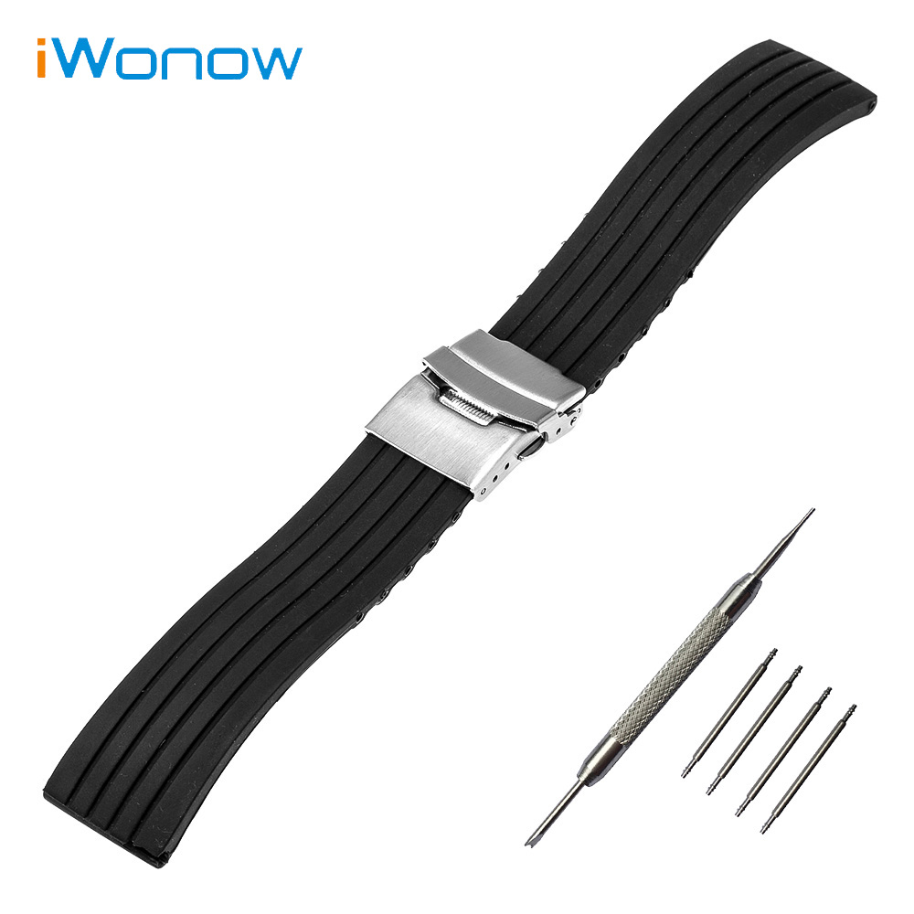 Silicone Rubber Watch Band 22mm for Vector Luna / Meridian, for Xiaomi Smartwatch Huami Amazfit Strap Wrist Belt Bracelet термостат для душа grohe grohtherm 800 34558000