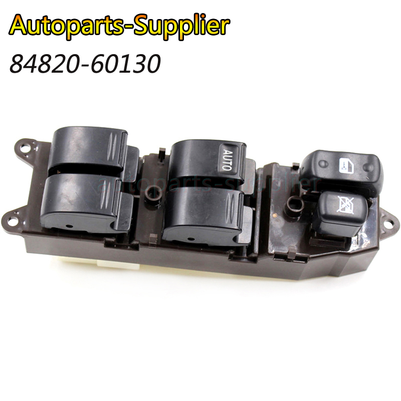 84820-60130 8482060130 Electric Power Window Switch For <font><b>Toyota</b></font> Land Cruiser <font><b>100</b></font> 84820 60130 image
